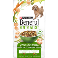 Purina Beneful Healthy Weight Dry Dog Food Healthy Weight With Real Chicken - 3.5 lb. Bag