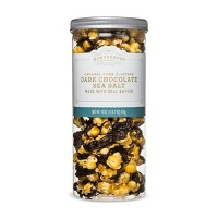 Dark Chocolate & Sea Salt Caramel Corn Clusters - 18oz - Wondershop™