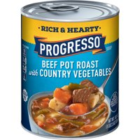 Progresso Rich & Hearty Beef Pot Roast Country Vegetables Soup 18.5 oz