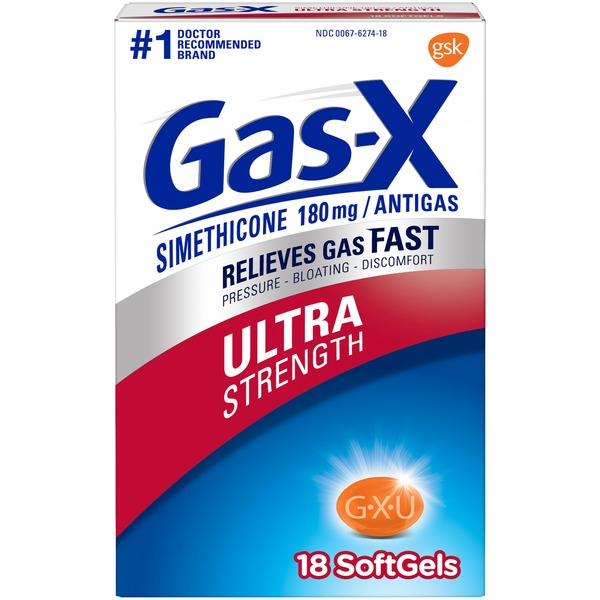 Gas-x Gas Relief Medication
