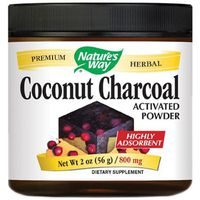 Nature's Way Activated Coconut Charcoal Dietary Supplement