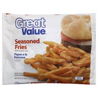 Great Value Seasoned French Fried Potatoes, 32 oz