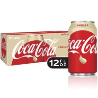 Coca-Cola Soda, Vanilla, 12 Fl Oz, 12 Count