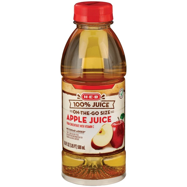 H-E-B 100% Apple Juice