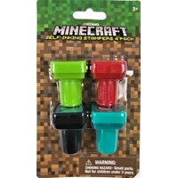 Minecraft Stampers / Favors (4ct)