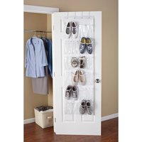 Mainstays 24 Pocket White Shoe Organizer