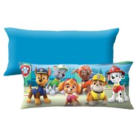PAW Patrol Body Pillow, Kids Bedding, 20 x 48, Puppy HQ