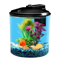 Aqua Culture 1.5-Gallon Aquarium Starter Kit with LED Lighting
