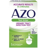 AZO Urinary Tract Infection Test Strips, UTI Test Results in 2 Minutes - 3ct