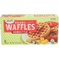 Sprouts Organic Homestyle Waffles