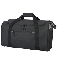 """PROTEGE 20"""" COLLAPSIBLE SPORT/TRAVEL DUFFEL - BLACK"""