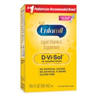 Enfamil D-Vi-Sol Infant Vitamin D Liquid, 400IU, 50Ct