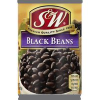 S&w Black Beans, Can
