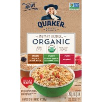 Quaker Organic Instant Oatmeal Variety Pack - 8ct