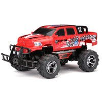 "New Bright RC 1:14 (12.5"") Radio Control RAM Runner Baja Truck, 2.4 GHz USB - Red"