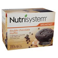 Nutrisystem Muffins, Double Chocolate, Breakfast