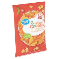 Great Value Nacho Cheese Tortilla Chips Party Size, 15 oz