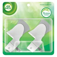 Air Wick Plug in Scented Oil Warmer, 2 ct, White color, Air Freshener, Essential Oils