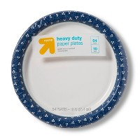 """Textured Dot Paper Plate 10"""" - 54ct - Up&Up™"""