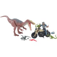 Jurassic World Battle Damage Ultimate Baryonyx Breakout