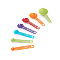 Farberware Multi-Colored Measuring Spoon Set, 7 Piece