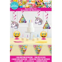 Emoji Birthday Party Decorating Kit, 7pcs