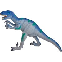 Adventure Force 6-Inch Velociraptor Dinosaur Toy, Blue, Designed for Ages 3 and Up