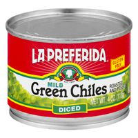 La Preferida Gluten Free Diced Green Chiles Mild
