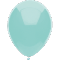 "Way To Celebrate 15 Ct. 12"" Plain Teal Balloons"