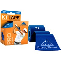 """KT Tape Pro Folds Of Honor Special Edition 10"""" Precut Sports Roll - 20 Strips"""