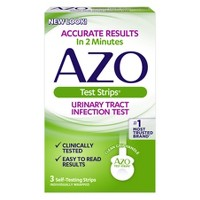 AZO Test Strips Urinary Tract Infection Test - 3ct