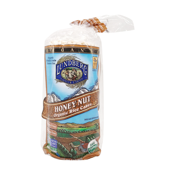 Lundberg family farms Lundberg Organic Honey Nut Rice Cakes, 9.6 oz