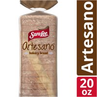 Sara Lee Original Artesano Bakery Bread, Thick Slices & Soft Texture, 20 oz