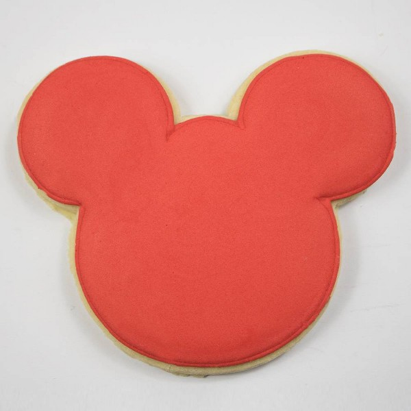 Disney Mickey Mouse & Friends Red Mickey Sugar Cookie - 2.12oz