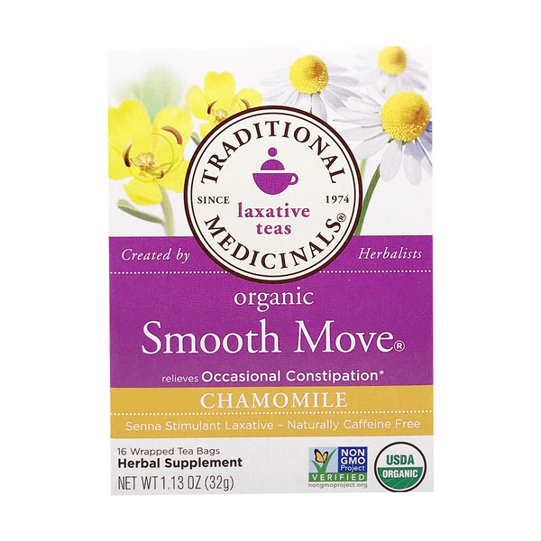 Traditional medicinals Organic Smooth Move Chamomile Tea, 1.13 oz