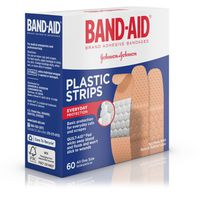 Band Aid Brand Plastic Strips Adhesive Bandages, All One Size