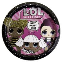 LOL Surprise Paper Dinner Plates, 9 in, 8ct