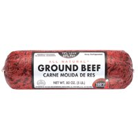 All Natural* 73% Lean/27% Fat Ground Beef Roll, 5 lb