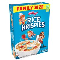 Kellogg's Rice Krispies Breakfast Cereal Fat-Free Family Size 24 oz
