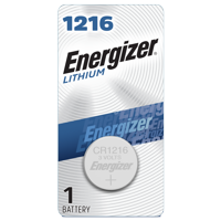 Energizer 1216 Lithium Coin Battery, 1 Pack