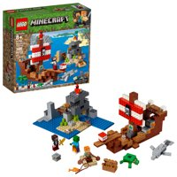 LEGO Minecraft The Pirate Ship Adventure 21152 Pirate Ship Toy