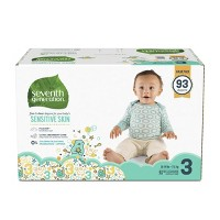 Seventh Generation Free & Clear Diapers Value Pack - (Select Size)
