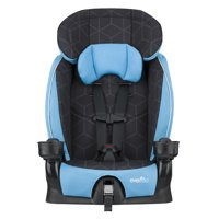 Evenflo Advanced Chase LX Harness Booster Car Seat, Glacier Ice