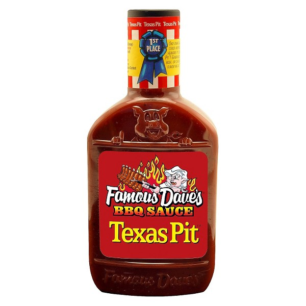 Famous Dave's Texas Pit Barbeque Sauce - 19oz