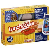 Lunchables Turkey & Cheddar with Capri Sun Convenience Meal