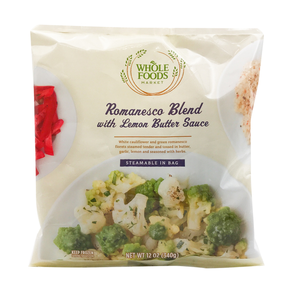 Whole foods market™ Romanesco Cauliflower Vegetable Blend, 12 oz