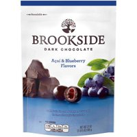 Brookside, Dark Chocolate Acai and Blueberry Flavors, 21 Oz.