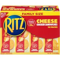 Ritz Cracker Sandwiches with Cheese - Family Size - 16ct/1.35oz