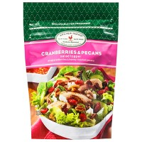 Dried Cranberries & Roasted Pecans Salad Topper - 3oz - Archer Farms™