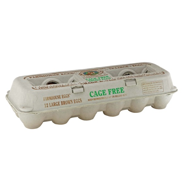 Simply Balanced Cage Free Large Brown Fresh Eggs